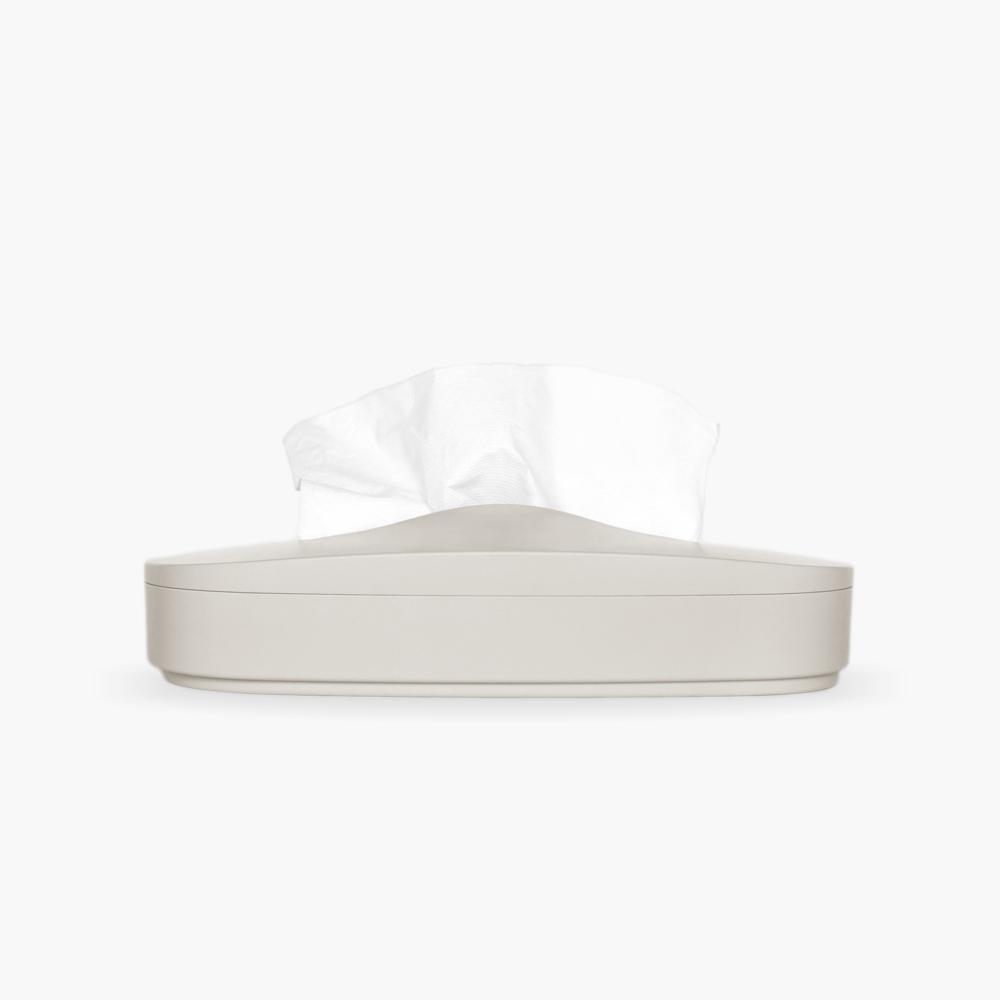 GeckoDesign 伸縮面紙盒(奶油灰)