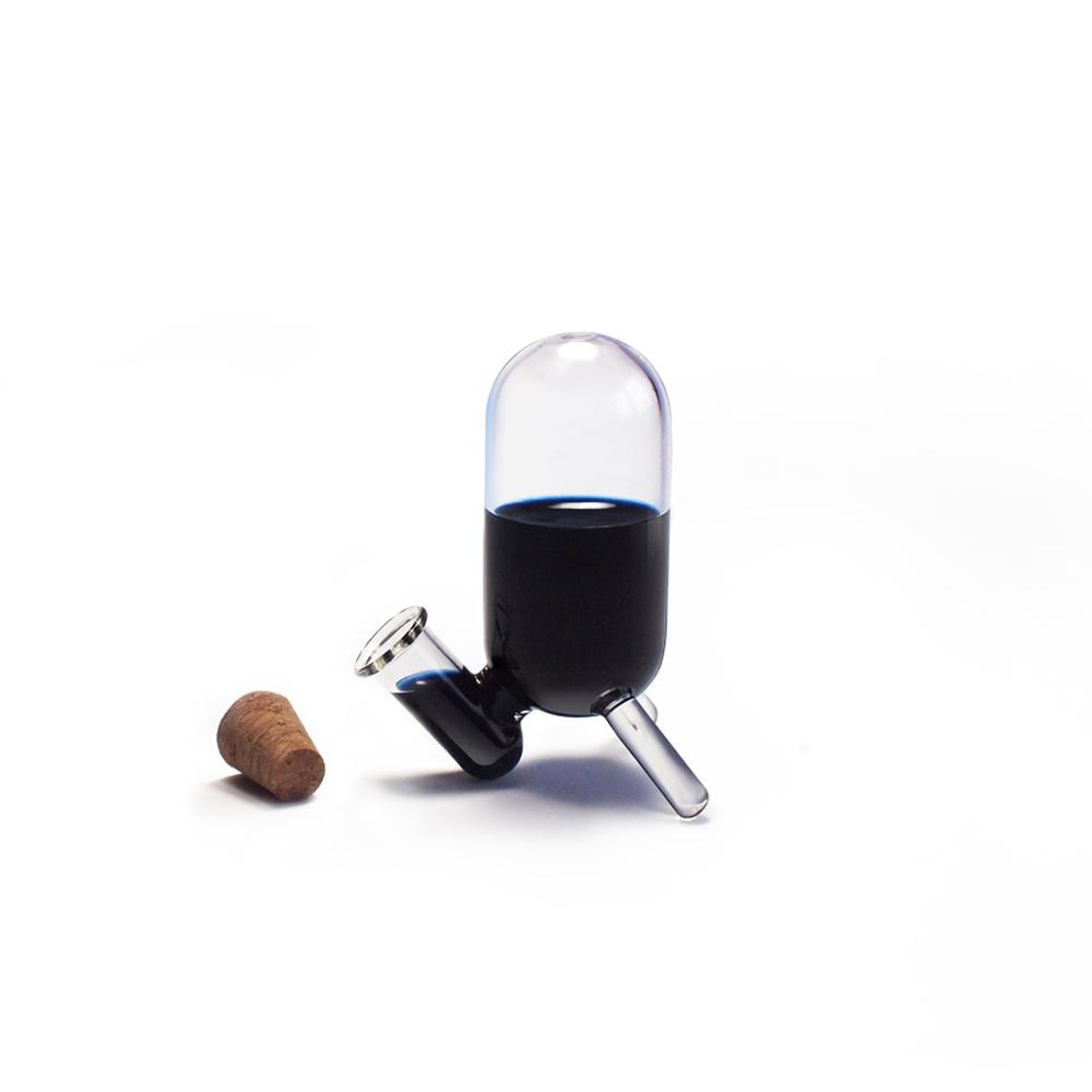 GeckoDesign  羽翼蘸水筆 x 墨器墨水瓶(長) 手工製文具組