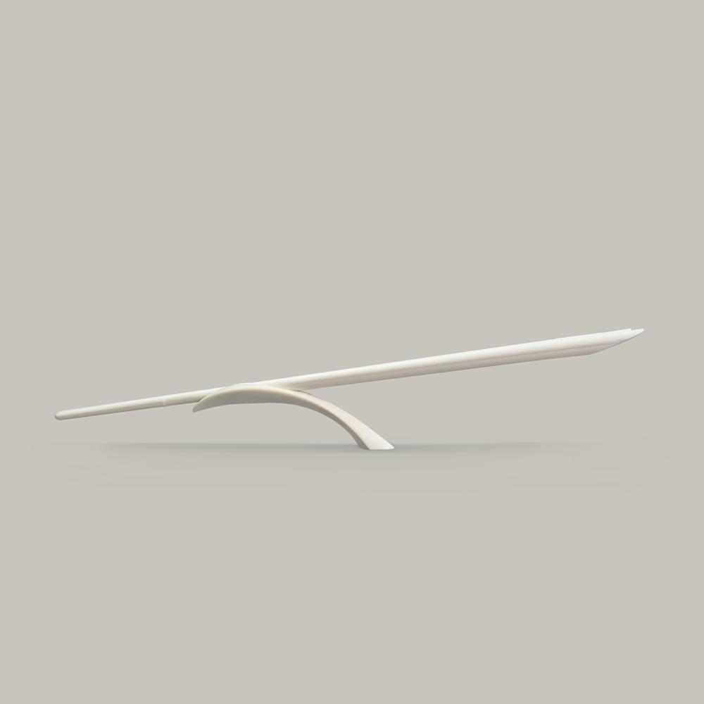 GeckoDesign Balanced 平衡箸筷架組 (簡約米白)