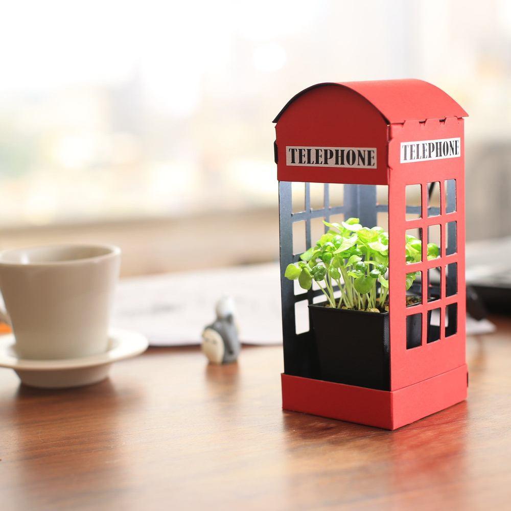Fescl Paper Garden LED 迷你植物燈/電話亭