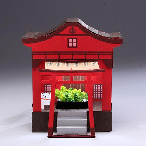 Fesc:l|Paper Garden LED 迷你植物燈/祈福神社