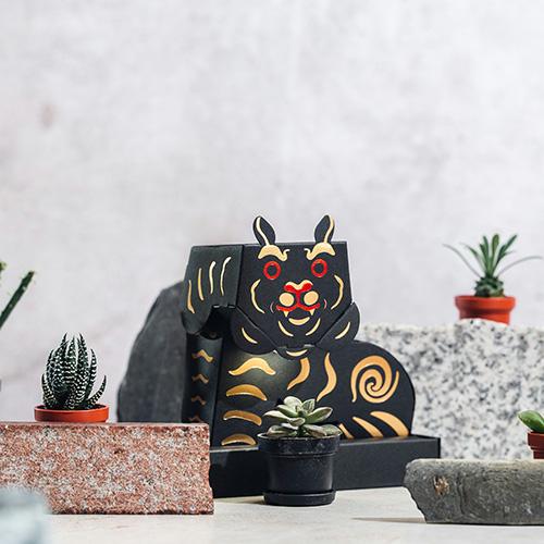Fesc:l|Paper Garden LED 迷你植物燈/黑虎將軍