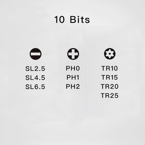 Spinner Drive 多合一滑輪起子組 標準版10起子組