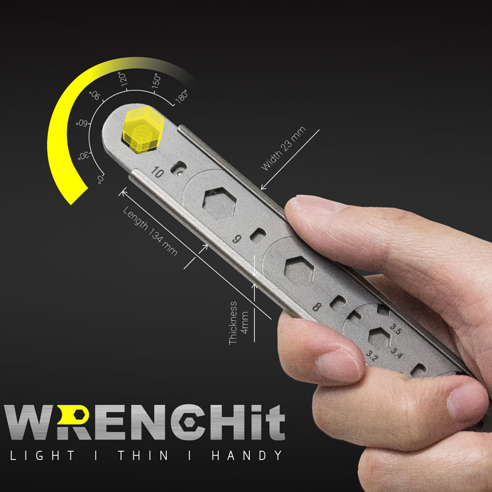 mininch|多功能扳手組 WRENCHit