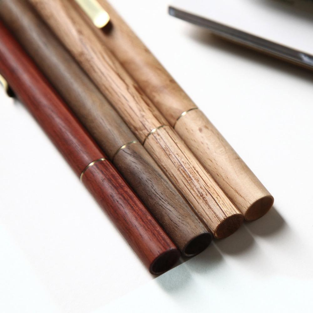 ISHUJA|now&then RETRO木系列-書寫觸控兩用筆(紅木)