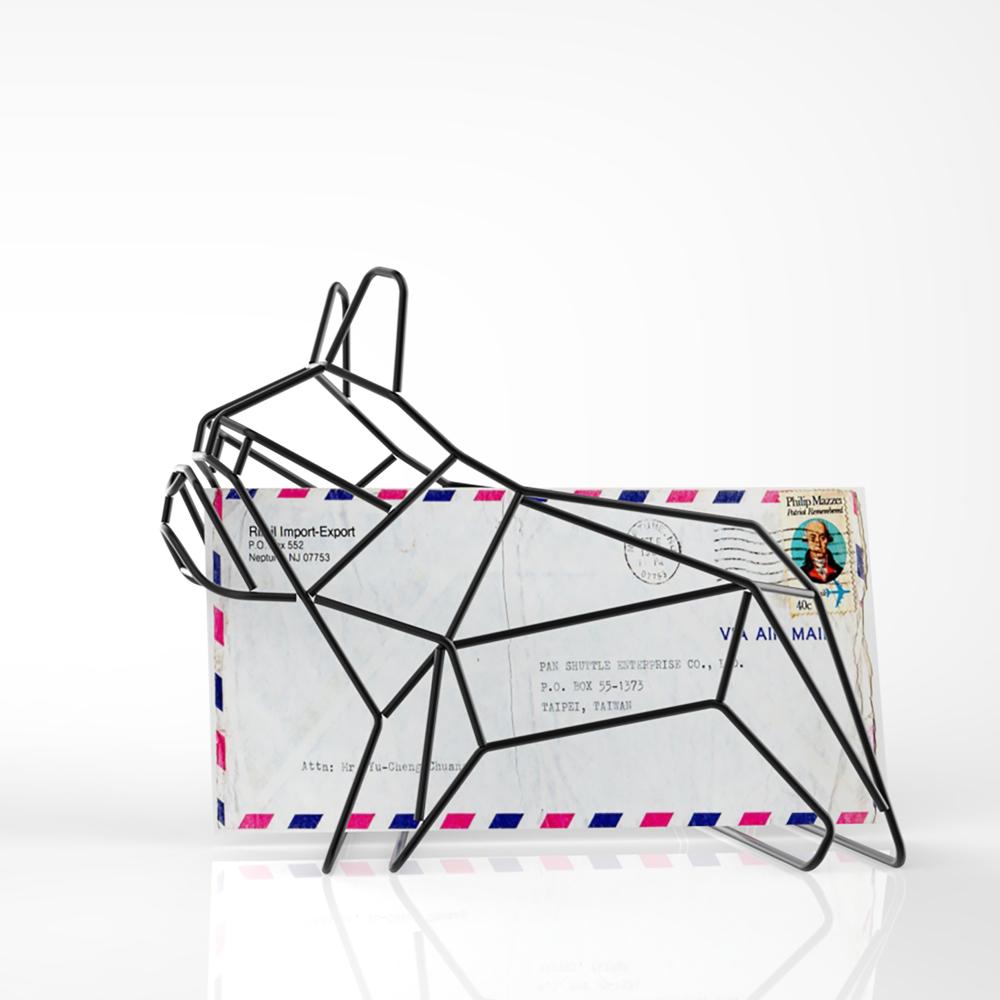 Liberté Design|French bulldog letter rack 法鬥犬置物架