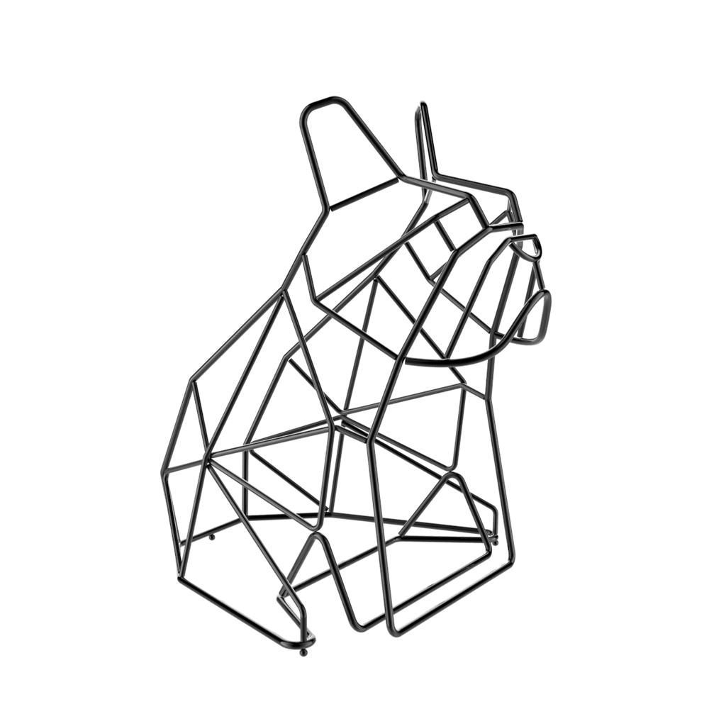 Liberté Design French Bulldog Magazine Rack 法國鬥牛犬雜誌架