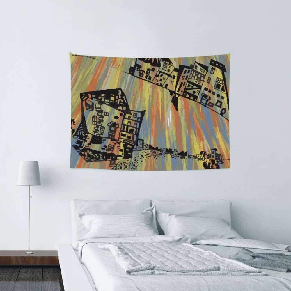 UMade|藝術家創作壁幔 - 影子  - Glory Cheng (150x112cm)
