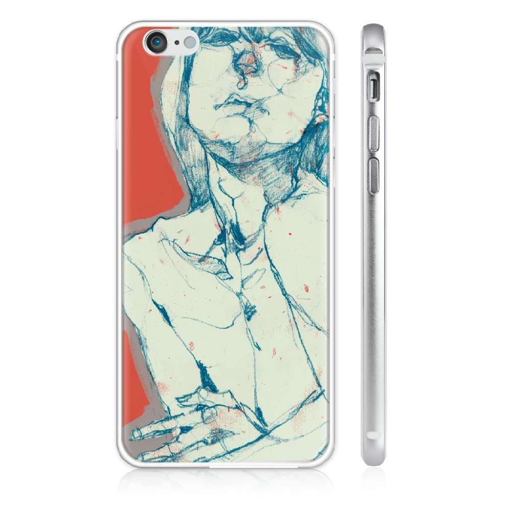 UMade|藝術家創作iPhone手機殼 - THE MOOD─孤獨 - 劉宜其 61Chi