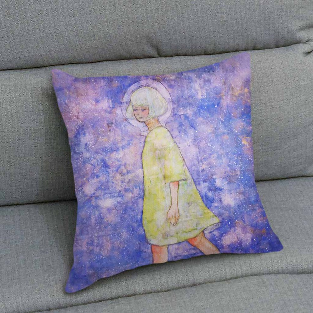 UMade|藝術家創作抱枕 - 一人的逃脫 - 黃暐珊 (40x40cm)