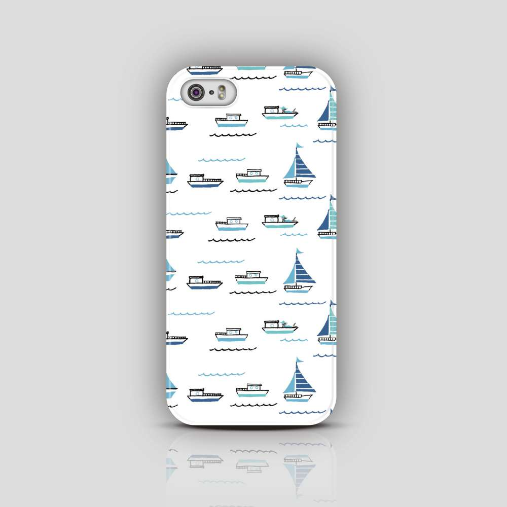 UMade 藝術家創作iPhone手機殼 Samsung HTC手機殼- 帆船- Naho Ogawa