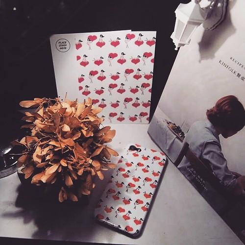 UMade|藝術家創作iPhone手機殼 Samsung HTC手機殼-Pretty Girl's Sweet heart- Naho Ogawa