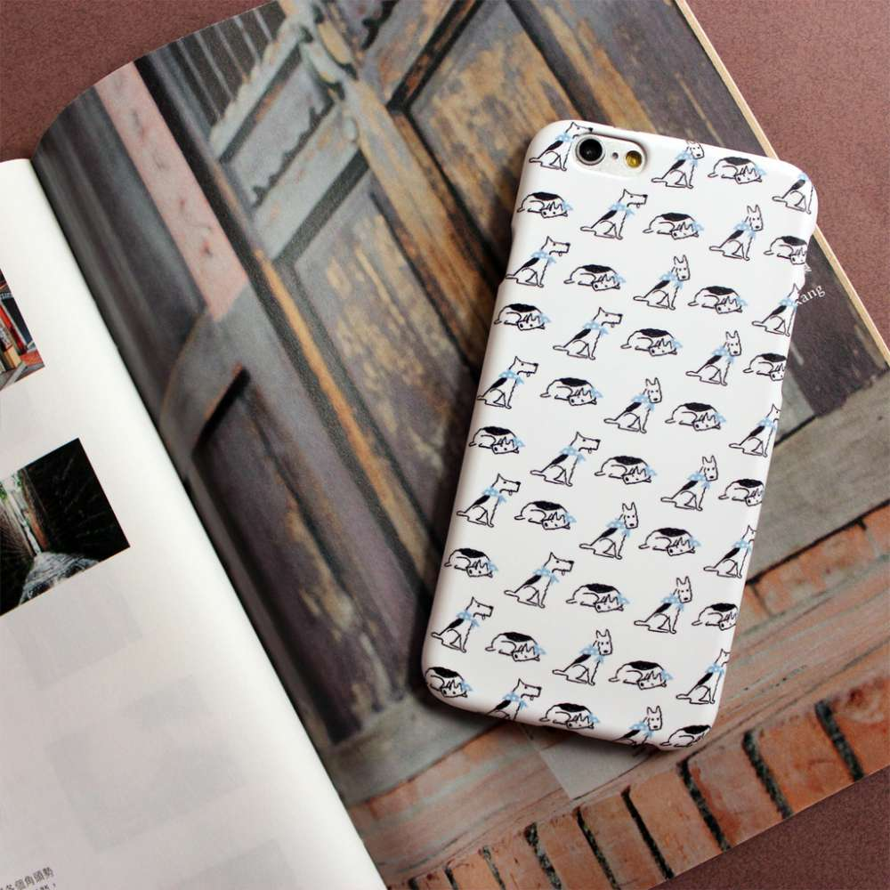 UMade|藝術家創作iPhone手機殼 Samsung HTC手機殼-Doggy- Naho Ogawa