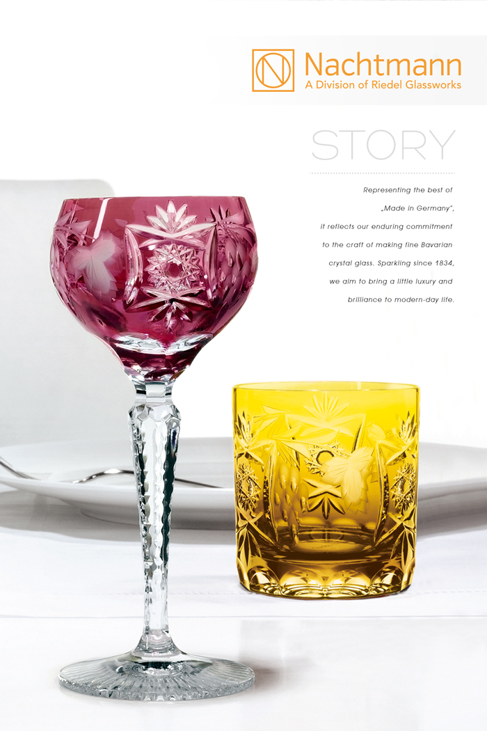 (複製)NACHTMANN│葡萄紅酒杯-深綠