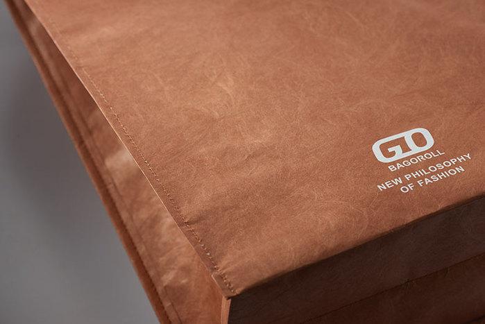 FLYTTA|BAGOROLL 隨時袋 (牛皮棕) 代號銷售類別未改
