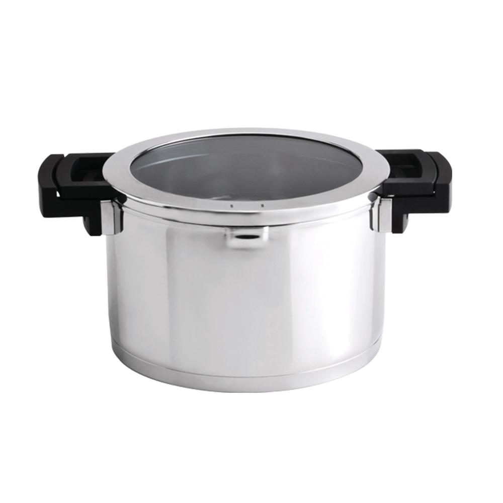BergHOFF焙高福 NEO時尚玻璃雙耳湯鍋24CM
