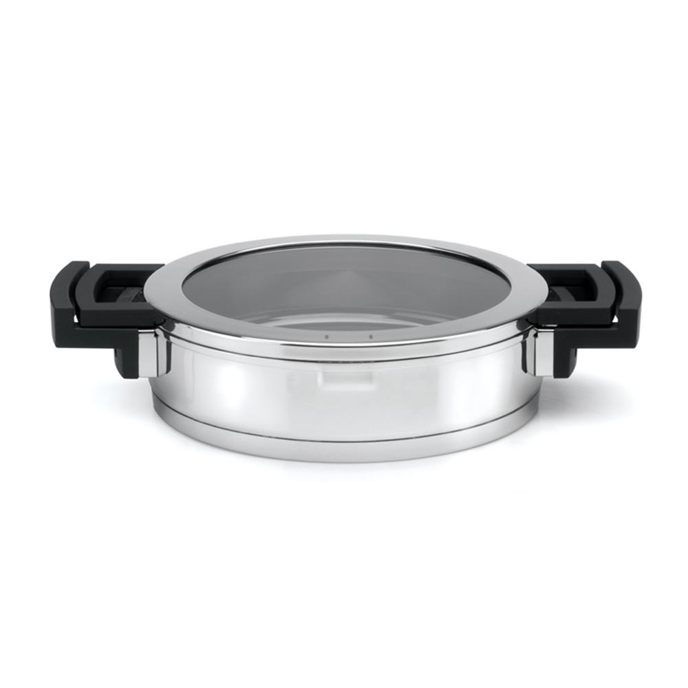 BergHOFF焙高福 NEO時尚玻璃雙耳平底鍋24CM