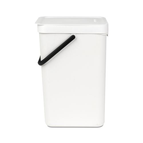 Brabantia|多功能餐廚置物桶12L-白色