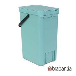 Brabantia|多功能餐廚置物桶16L-薄荷藍