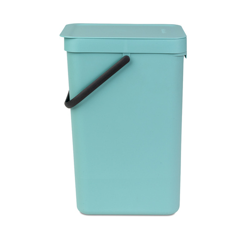 Brabantia 多功能餐廚置物桶16L-薄荷藍