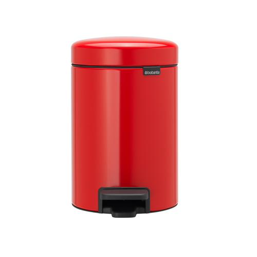 Brabantia| NEWICON環保垃圾桶 │熱情紅 3L