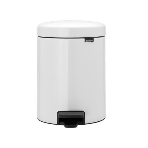 Brabantia|NEWICON環保垃圾桶 5L 純靜白