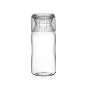 Brabantia  粉彩量杯曲線儲存罐1.3L-透明