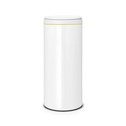 Brabantia 新掀式垃圾桶30L 純靜白