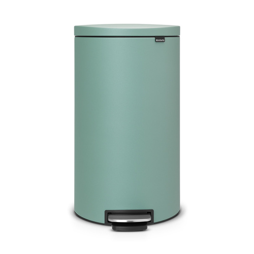 Brabantia|背靠背腳踏式垃圾桶30L 墨綠色