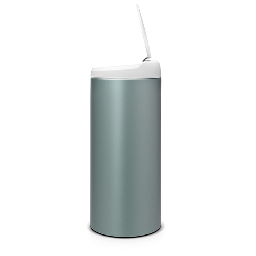 Brabantia  新掀式垃圾桶 │金屬藍