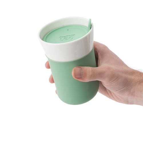 BergHOFF │Leo 即飲隨行杯(附蓋)(薄荷綠) 330ml