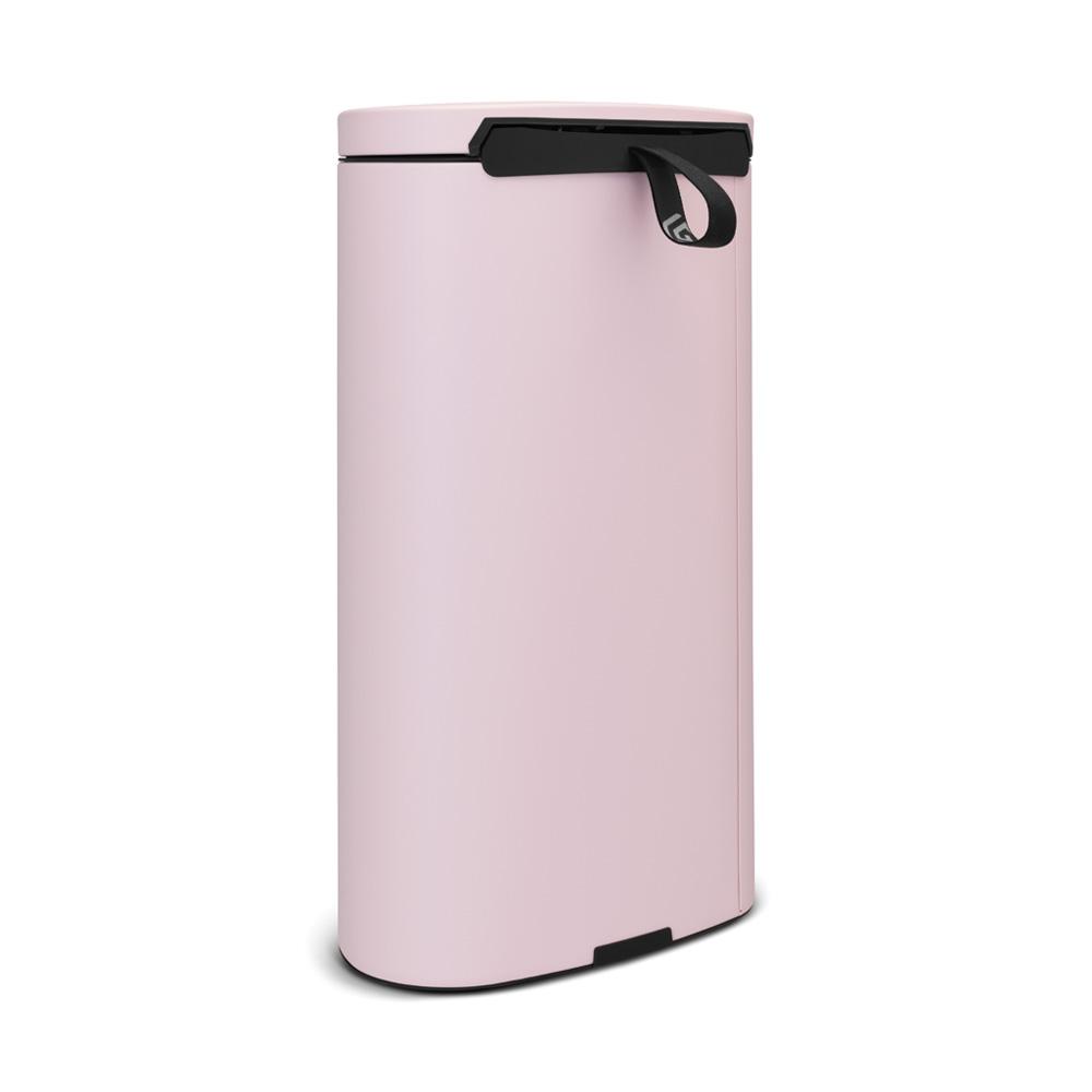 Brabantia|背靠背腳踏式垃圾桶30L 粉紅色