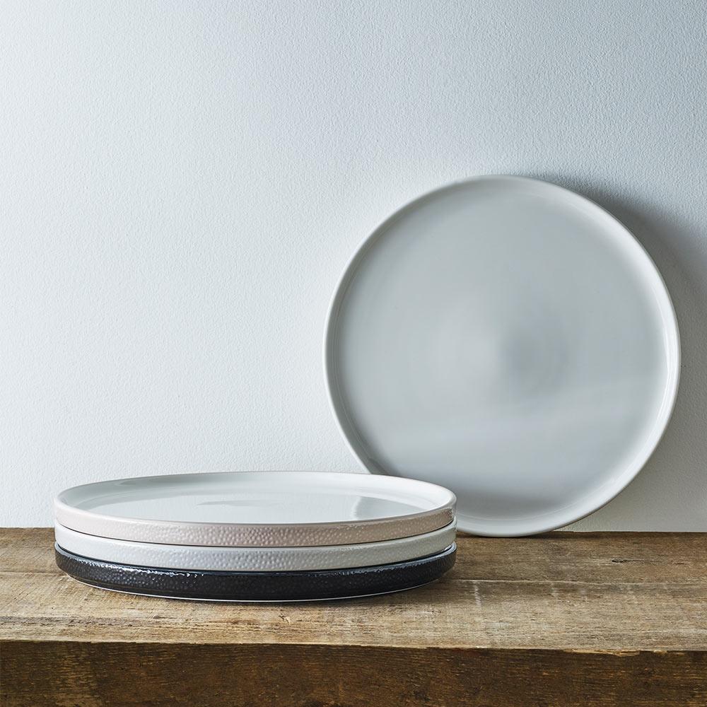 Noritake|彩石-主餐盤25cm-石耀黑