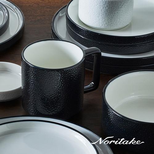 Noritake 彩石-馬克杯-石耀黑