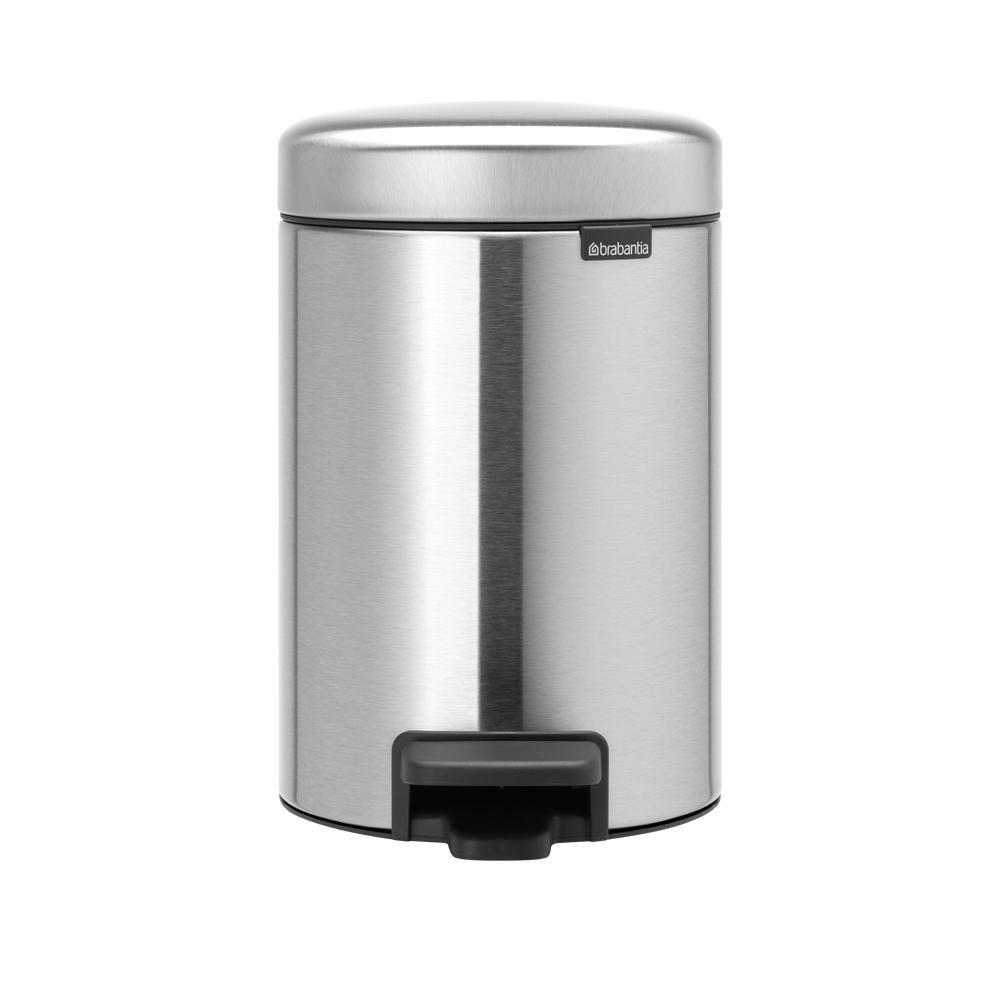 Brabantia|NEWICON環保垃圾桶-3L-霧面銀