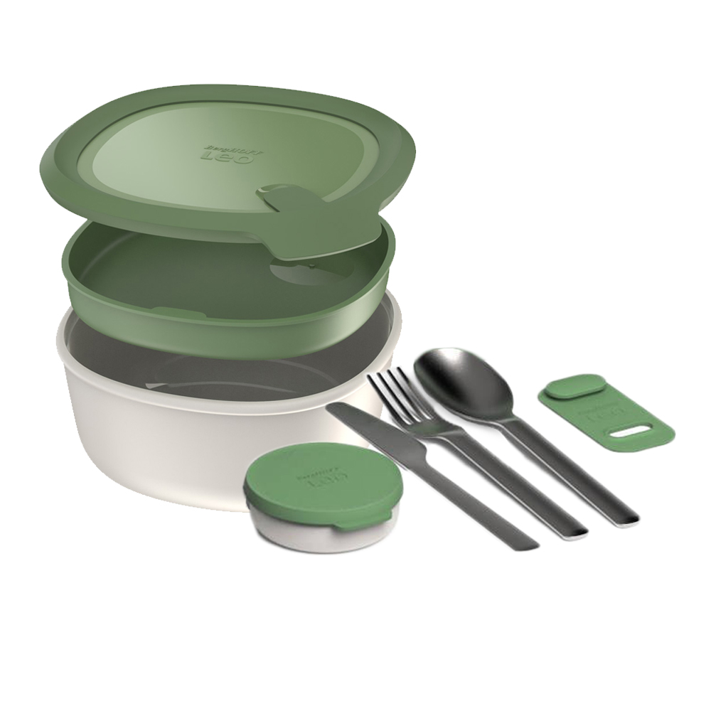 BergHOFF 焙高福|多用途沙拉餐碗附含餐具組