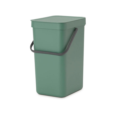 Brabantia|多功能餐廚置物桶12L-冷杉綠