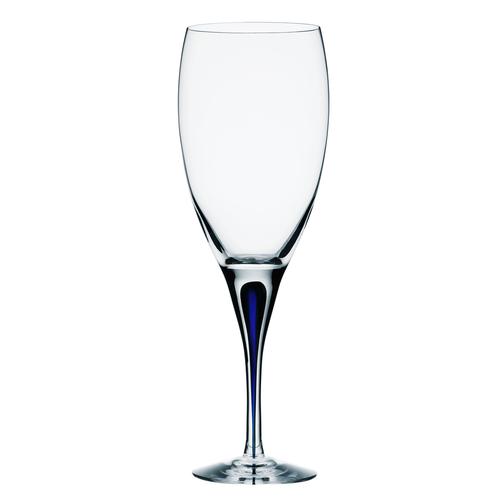 Orrefors 藍色之舞白酒杯32CL-INTERMEZZO