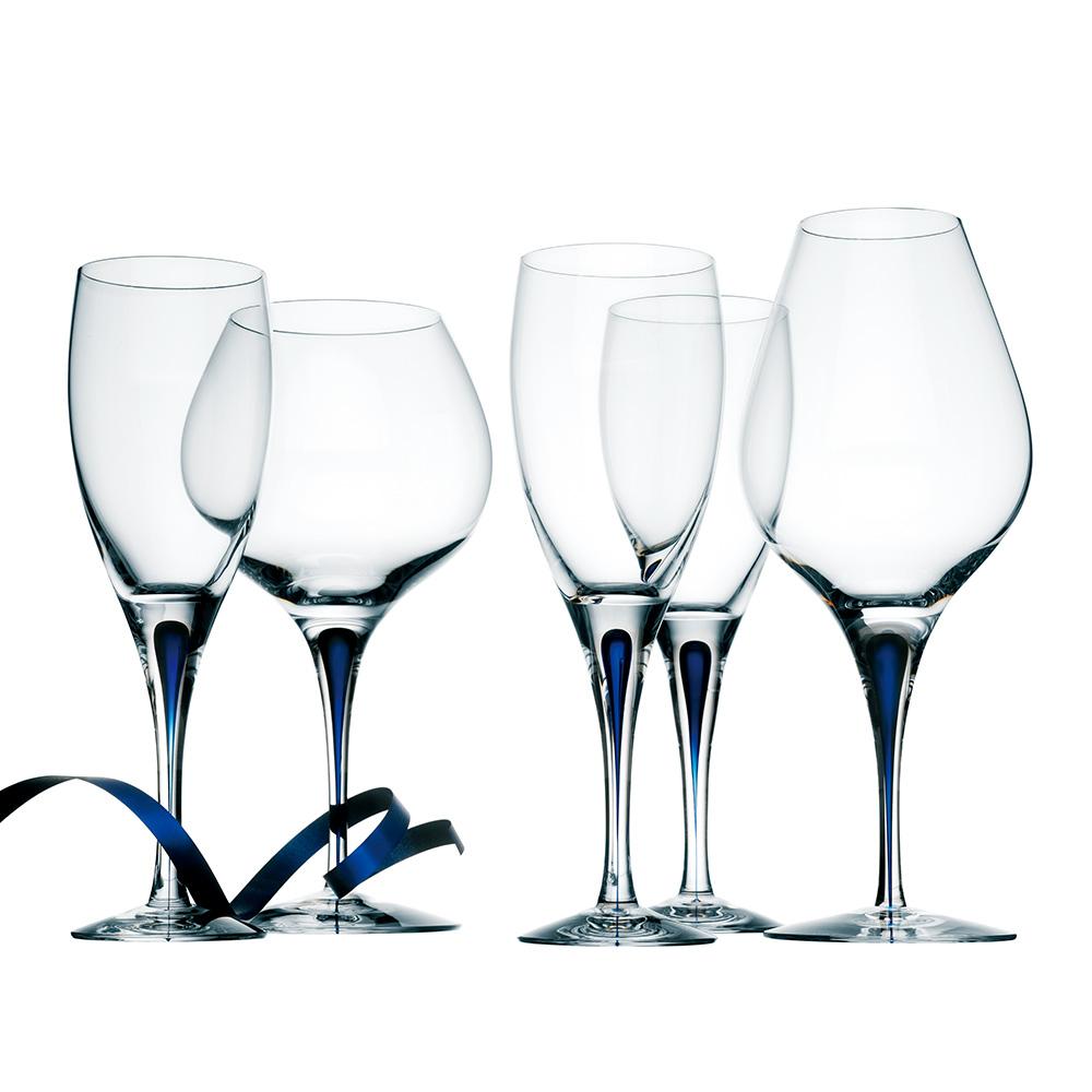 Orrefors|藍色之舞威士忌杯40CL-INTERMEZZO