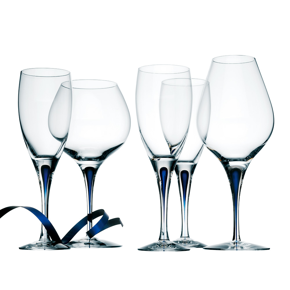 Orrefors|藍色之舞調酒杯47CL-INTERMEZZO BLUE