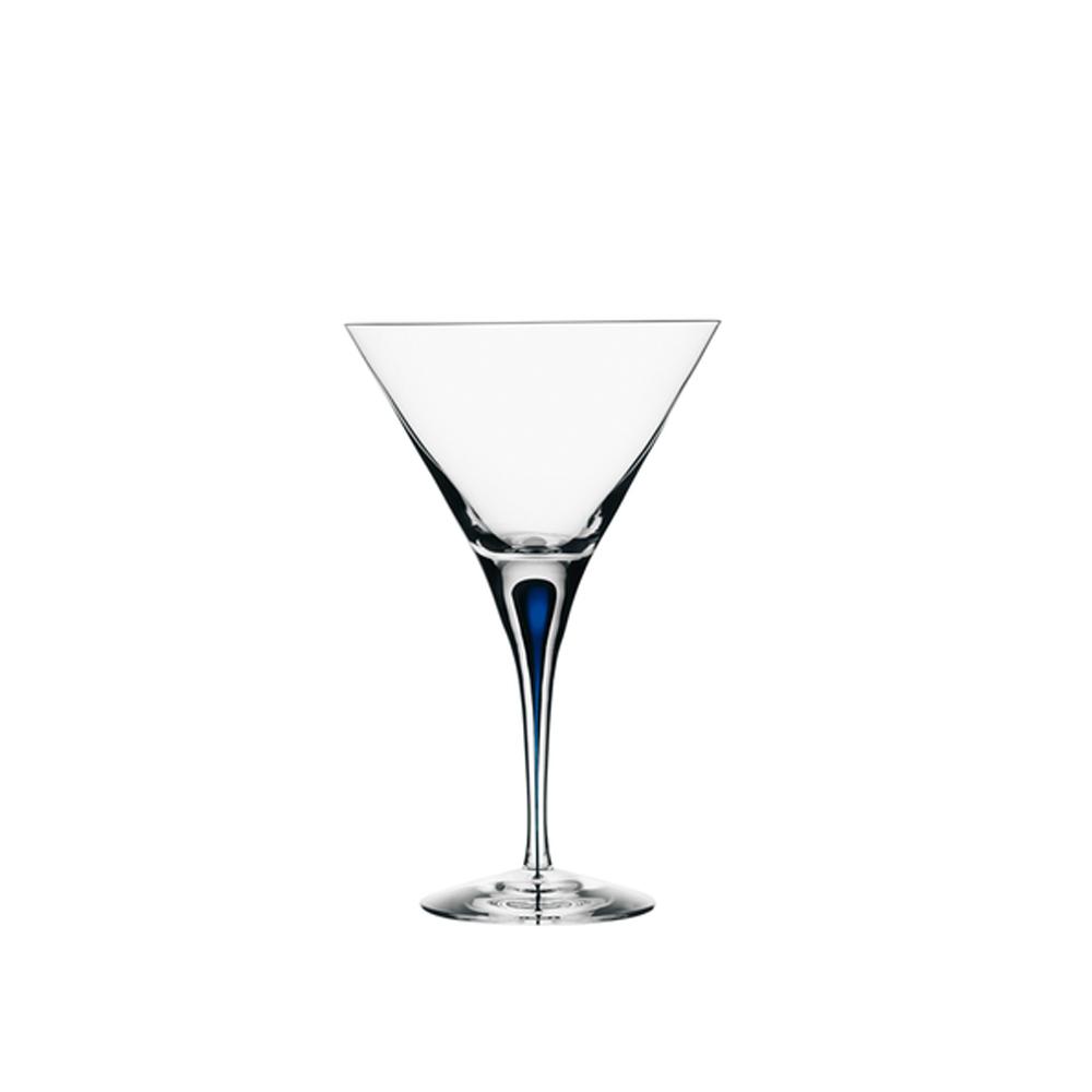 Orrefors|藍色之舞馬丁尼杯25CL-INTERMEZZO BLUE