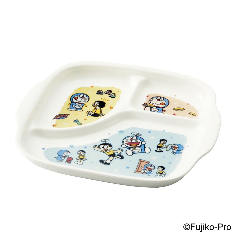 Noritake|哆啦A夢 童趣 分隔餐盤 23CM