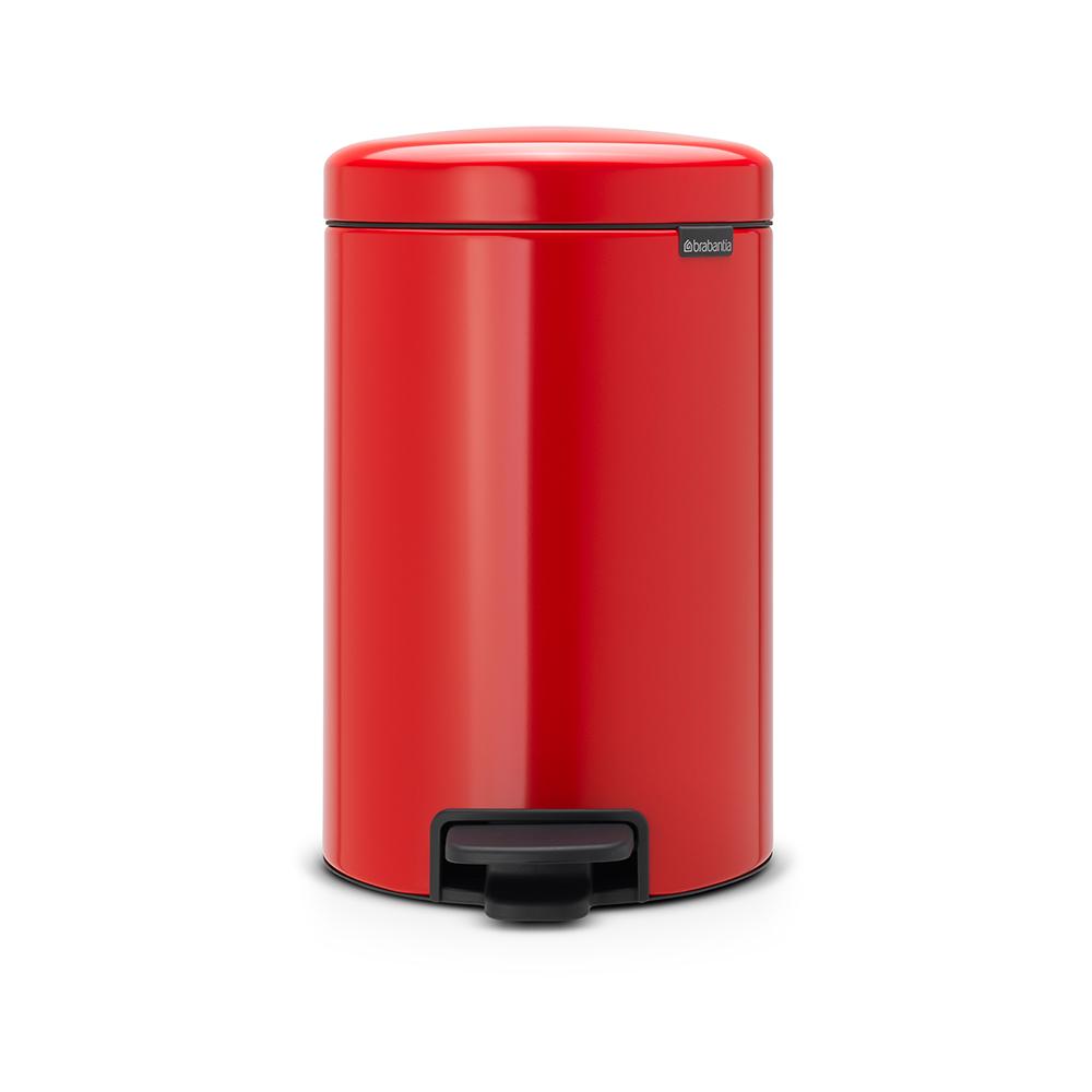 Brabantia|NEWICON環保垃圾桶-12L熱情紅