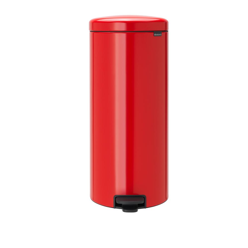 Brabantia NEWICON環保垃圾桶-30L熱情紅