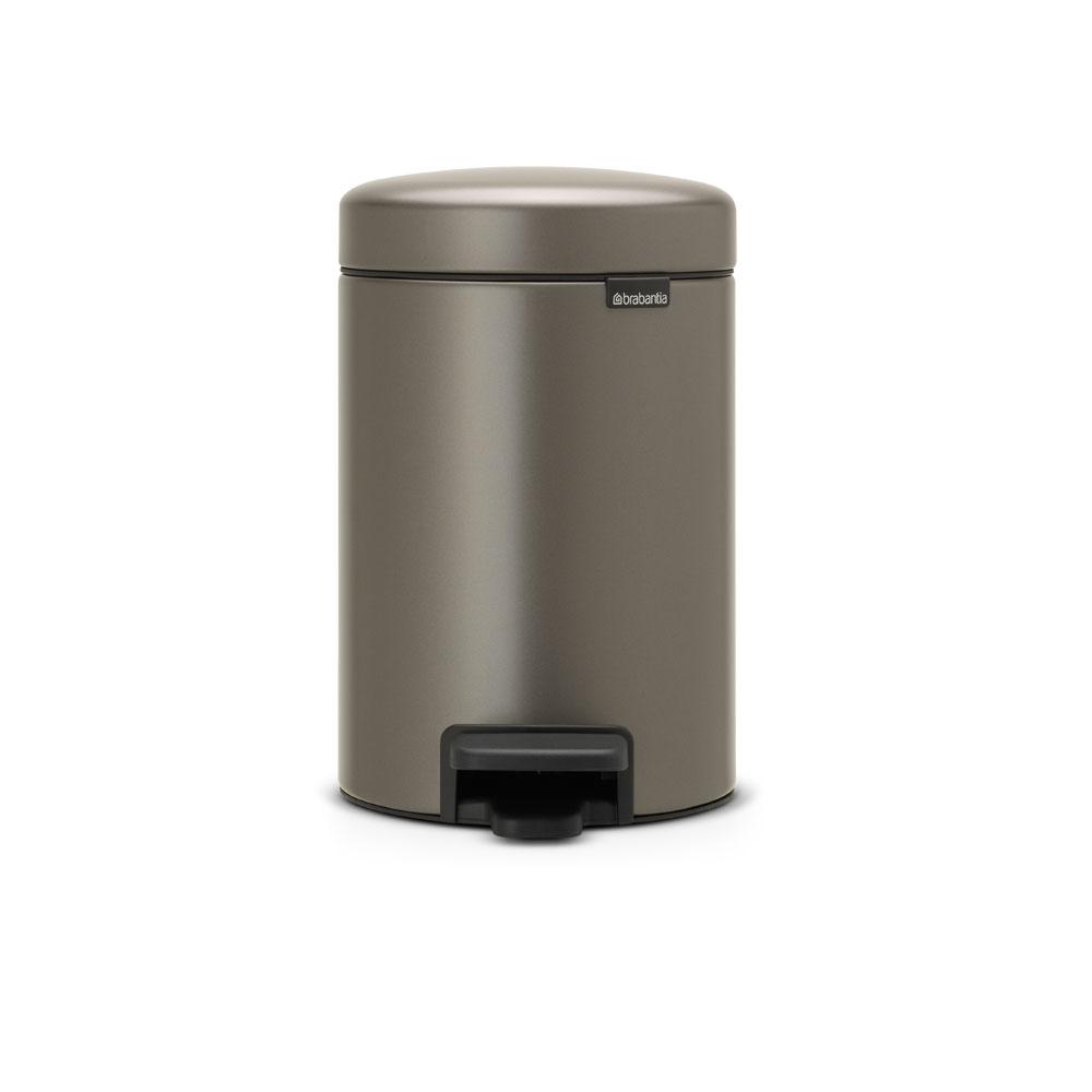 Brabantia NEWICON環保垃圾桶-3L煤灰褐