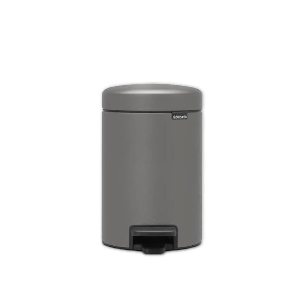 Brabantia|NEWICON環保垃圾桶-3L礫石灰