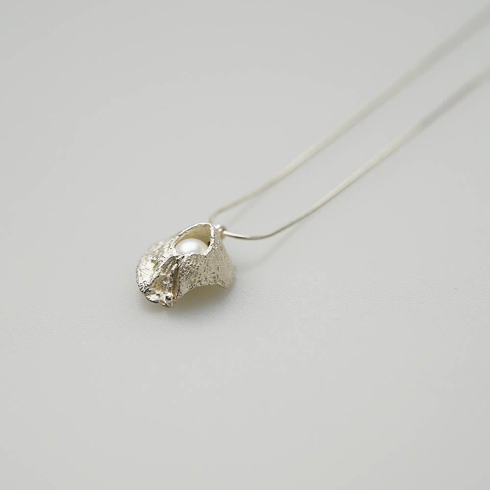 I-Shan13 火山貝殼珍珠項鍊