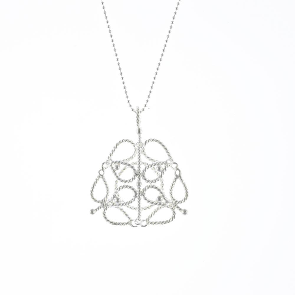 I-Shan13 花盒扭絲項鍊