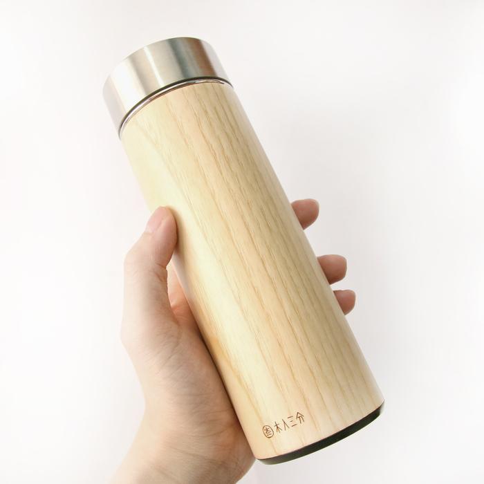 (複製)木入三分 汋飲保溫瓶(栓木)
