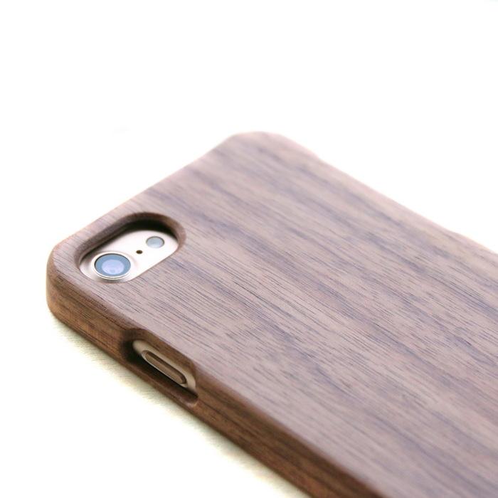 木入三分|iphone 7 實木手機殼(胡桃)